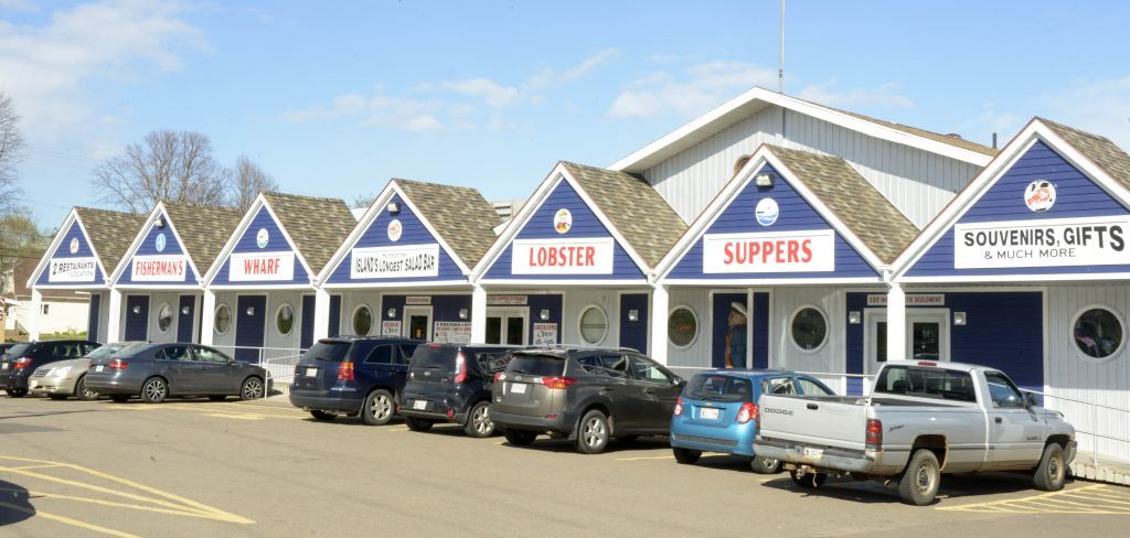 Exterior of World Famous Fishermans Wharf Lobster Suppers North Rustico PEI